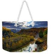 Autumn On The Genesee Weekender Tote Bag