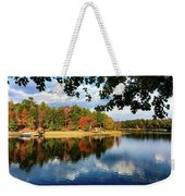 Autumn On The Lake  Weekender Tote Bag