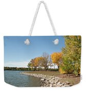 Autumn On The Water Weekender Tote Bag