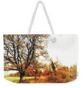 Autumn On White Weekender Tote Bag
