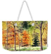 Autumn Oranges Weekender Tote Bag