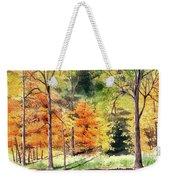Autumn Oranges Weekender Tote Bag
