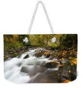 Autumn Passages Weekender Tote Bag