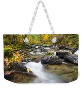 Autumn Passing Weekender Tote Bag