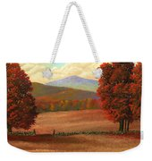 Autumn Pastures Weekender Tote Bag
