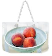 Autumn Peaches Weekender Tote Bag