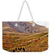 Autumn Peaks In The Rockies Weekender Tote Bag
