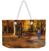 Autumn - People - A Walk In The Park Weekender Tote Bag