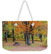 Autumn Picnic Weekender Tote Bag