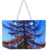 Autumn Pine Tree Weekender Tote Bag