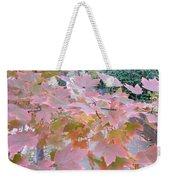 Autumn Pink Weekender Tote Bag