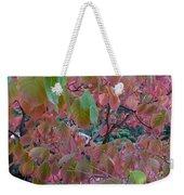 Autumn Pink Poster Weekender Tote Bag