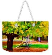 Autumn Playground 1 Weekender Tote Bag