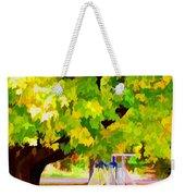 Autumn Playground Weekender Tote Bag