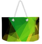 Autumn Polygon Pattern Weekender Tote Bag