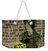 Autumn Porch Scene Weekender Tote Bag