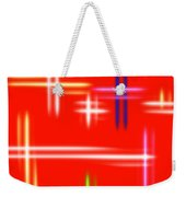 Autumn Pulse Weekender Tote Bag