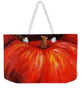 Autumn Pumpkins Weekender Tote Bag