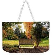 Autumn Quiet Weekender Tote Bag