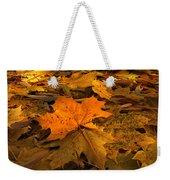 Autumn Quilt Weekender Tote Bag