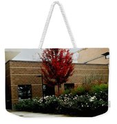 Autumn Rain Weekender Tote Bag