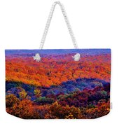 Autumn Rainbow Weekender Tote Bag