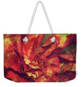 Autumn Red  Weekender Tote Bag