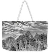 Autumn Reflection 2 Bw Weekender Tote Bag