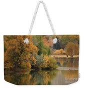 Autumn Reflection 41 Weekender Tote Bag