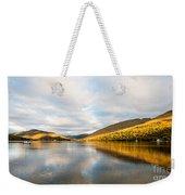 Autumn Reflection At Arrochar Weekender Tote Bag
