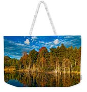 Autumn Reflection II Weekender Tote Bag