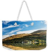 Autumn Reflection, Loch Long Weekender Tote Bag
