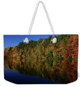Autumn Reflection Of Colors Weekender Tote Bag