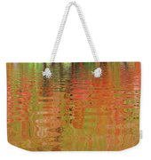 Autumn Reflections Abstract Weekender Tote Bag