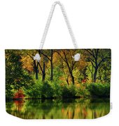 Autumn Reflections On Salt Creek IIi Weekender Tote Bag