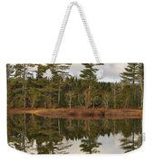 Autumn Reflector Weekender Tote Bag