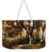 Autumn Repose Weekender Tote Bag by Jessica Jenney