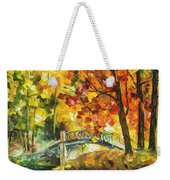 Autumn Rest   Weekender Tote Bag