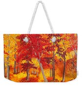 Autumn Richness Weekender Tote Bag