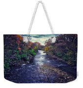 Autumn Riders On The Storm Weekender Tote Bag