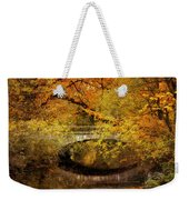 Autumn River Views Weekender Tote Bag