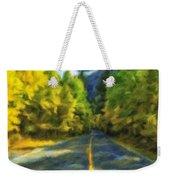 Autumn Road Weekender Tote Bag