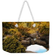 Autumn Rock Garden Weekender Tote Bag