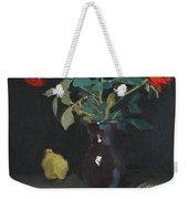 Autumn Rose Weekender Tote Bag