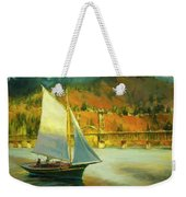 Autumn Sail Weekender Tote Bag by Steve Henderson