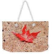 Autumn Sand Weekender Tote Bag