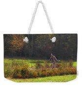 Autumn Scarecrow Weekender Tote Bag