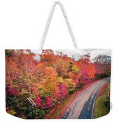 Autumn Season And Color Changing Leaves Season Weekender Tote Bag