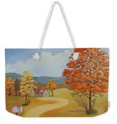 Autumn Season Weekender Tote Bag