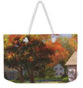 Autumn Shadow And Light Weekender Tote Bag